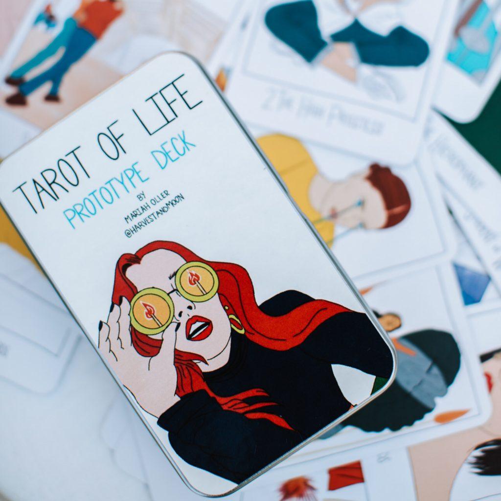 Tarot of Life Indy Tarot Deck (Funded On KickStarter!)